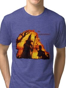 An Adventure?  Tri-blend T-Shirt
