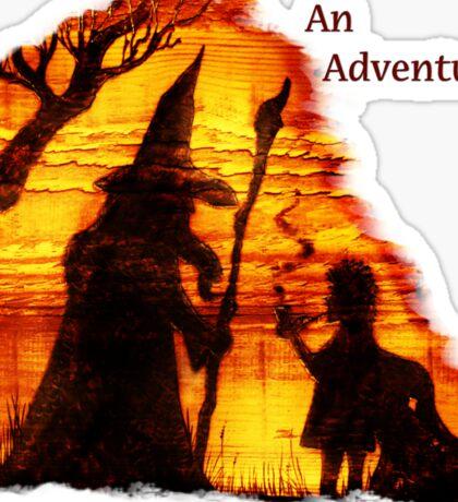 An Adventure?  Sticker