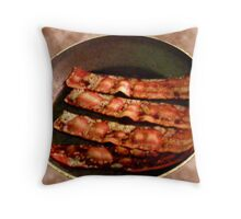Bacon Throw Pillow