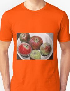 Fruit in bowl mixed media T-Shirt