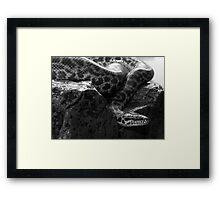 DAGGER Framed Print