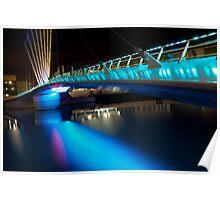 Bridge at Media City Poster