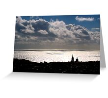 Sky, Sea and Land Greeting Card