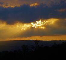 Sunset Over Stretton by Simon Pattinson