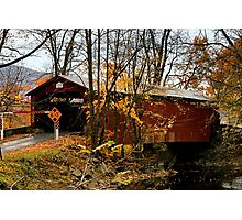 Rishel Covered Bridge Photographic Print