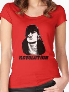 Che Iorveth - Viva la Scoia'tel Revolution! Women's Fitted Scoop T-Shirt
