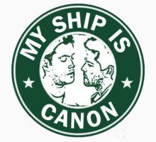 Starbucks/My Ship Is Canon- Destiel by rhizatay