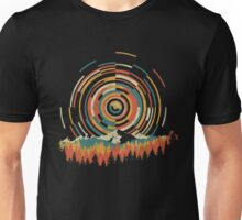 The Geometry of Sunrise Unisex T-Shirt