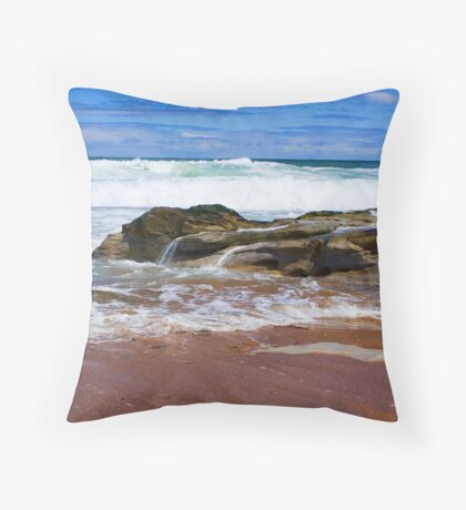 A Scottish summer.... only lasts one day Throw Pillow