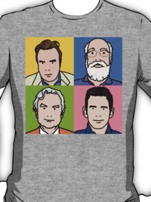 Four Horsemen 2013 - Hitchens, Dennett, Dawkins & Harris T-Shirt