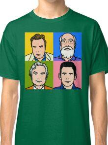Four Horsemen 2013 - Hitchens, Dennett, Dawkins & Harris Classic T-Shirt