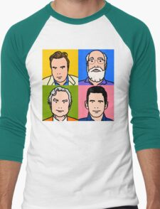 Four Horsemen 2013 - Hitchens, Dennett, Dawkins & Harris Men's Baseball ¾ T-Shirt