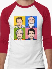 Four Horsemen 2013 - Hitchens, Dennett, Dawkins & Harris Men's Baseball ¾ T-Shirt
