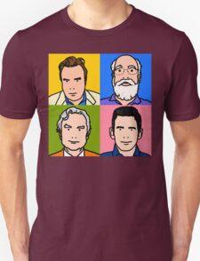 Four Horsemen 2013 - Hitchens, Dennett, Dawkins & Harris T-Shirt