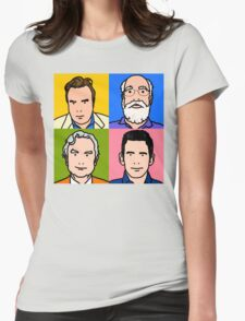 Four Horsemen 2013 - Hitchens, Dennett, Dawkins & Harris Womens Fitted T-Shirt