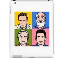 Four Horsemen 2013 - Hitchens, Dennett, Dawkins & Harris iPad Case/Skin