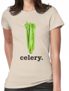 celery Womens Fitted T-Shirt
