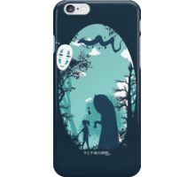 Inside the forest iPhone Case/Skin