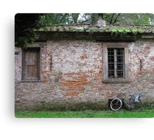 Lucca wall Canvas Print