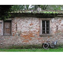 Lucca wall Photographic Print