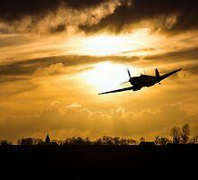 Spitfire lines  by J Biggadike