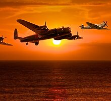 The Battle of Britain Memorial Flight (RAFBBMF) by yeamanphoto
