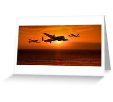 The Battle of Britain Memorial Flight (RAFBBMF) Greeting Card