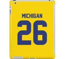 Michigan 26 iPad Case/Skin