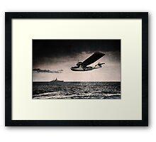 RAF Catalina  Framed Print