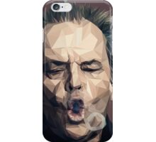 Jack Nicholson - Low poly iPhone Case/Skin