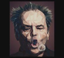 Jack Nicholson - Low poly T-Shirt