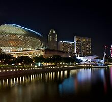The Esplanade Theatres on the Bay by tpixx