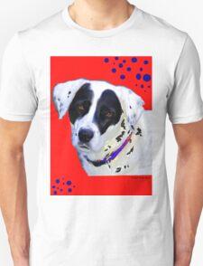 black & white dog T-Shirt