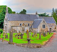 Abercorn Church South Side by Tom Gomez