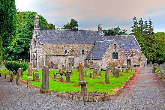 Abercorn Church South Side by Tom Gomez