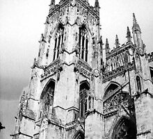 Olde York Minster by Mark  Jones
