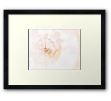 A touch of Leonardo Framed Print