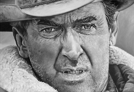 James Stewart by Arie van der Wijst