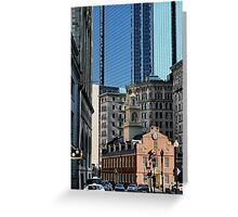 Old Statehouse Revisited Greeting Card