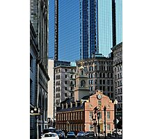 Old Statehouse Revisited Photographic Print