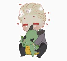 Chibi Draco sticker by Cremebunny