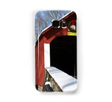 Snow for the Holidays Samsung Galaxy Case/Skin