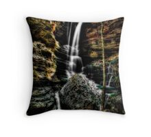 Indian Creek Falls Throw Pillow