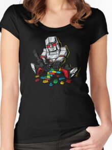 Megablocks Women's Fitted Scoop T-Shirt