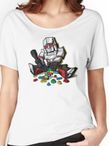 Megablocks Women's Relaxed Fit T-Shirt