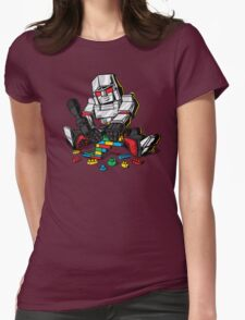 Megablocks Womens Fitted T-Shirt
