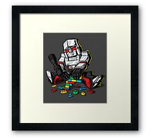 Megablocks Framed Print