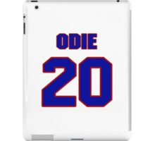 Basketball player Odie Spears jersey 20 iPad Case/Skin