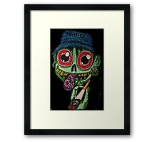 Twisted Terry Framed Print