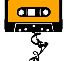 Cassette Tape Jam by theshirtshops